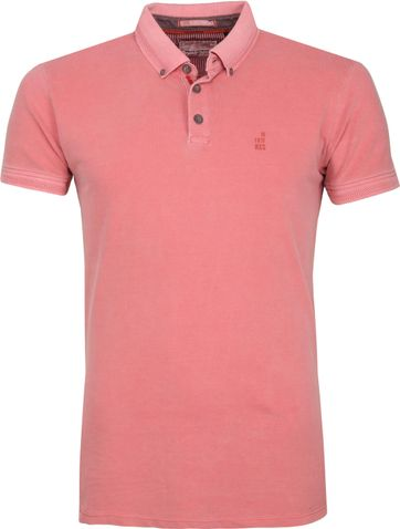 No Excess Poloshirt Stretch Pink
