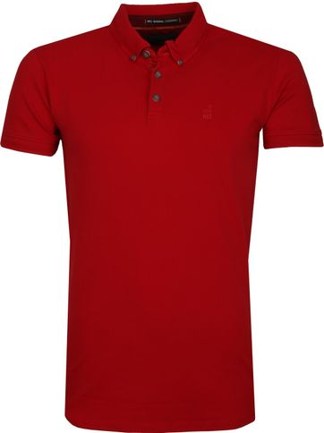 35b6cbb2d20 No Excess Poloshirt Stretch Rood