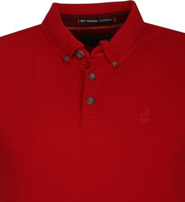 No Excess Poloshirt Stretch Rood