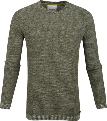 No-Excess Pullover Blend Dark Green