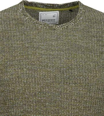 No-Excess Pullover Blend Dark Green