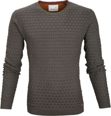 No-Excess Pullover Dark Steel