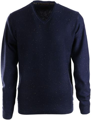 No-Excess Pullover Donkerblauw
