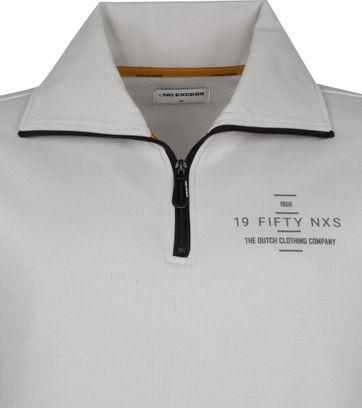 No-Excess Pullover Half Zip Beige