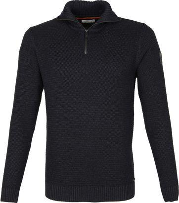 No-Excess Pullover Half Zip Navy