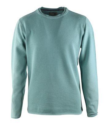 No-Excess Pullover Meeresblau