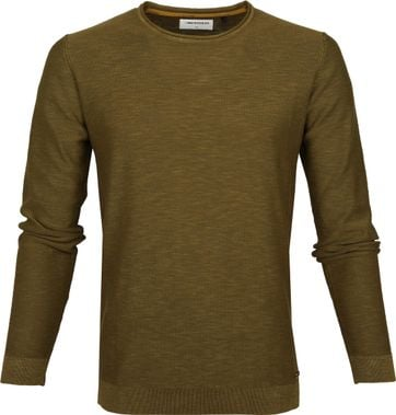 No-Excess Pullover Moss