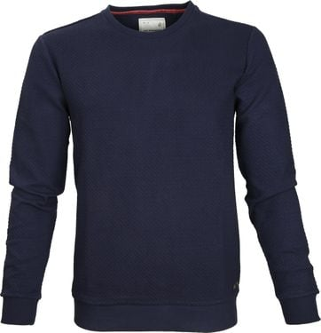 No-Excess Pullover Navy