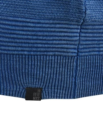 Detail No-Excess Pullover Royal Blue