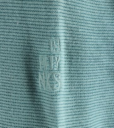 Detail No-Excess Pullover Zeeblauw