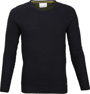 No-Excess Pullover Zwart