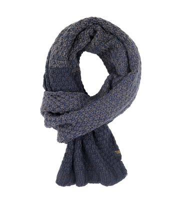 No Excess Scarf Blue