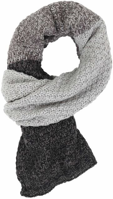 No Excess Scarf Grau
