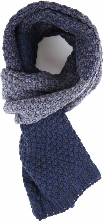 No-Excess Scarf Navy