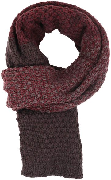 No Excess Scarf Red
