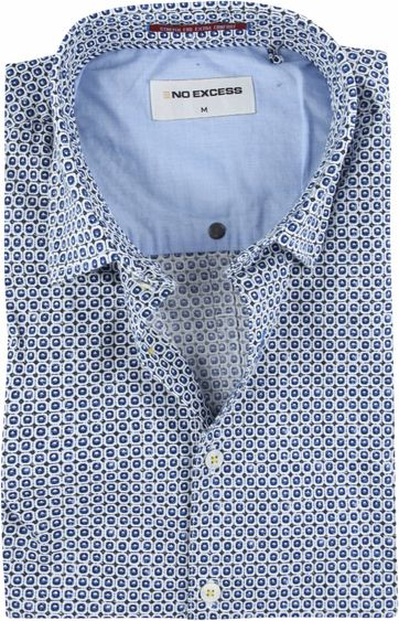 No-Excess Shirt Blue