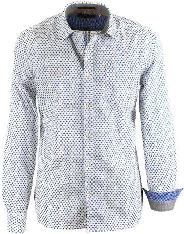 No-Excess Shirt Blue Prints