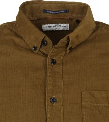 No-Excess Shirt Corduroy Brown