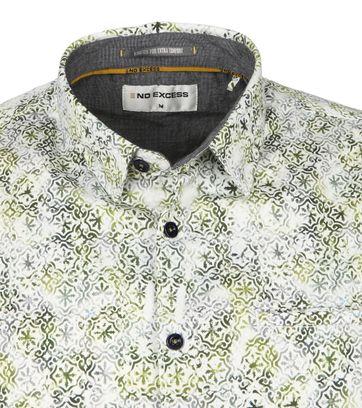 No-Excess Shirt Flakes Dessin Green