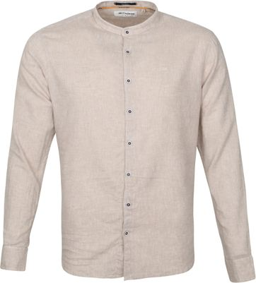 No-Excess Shirt Granddad Khaki