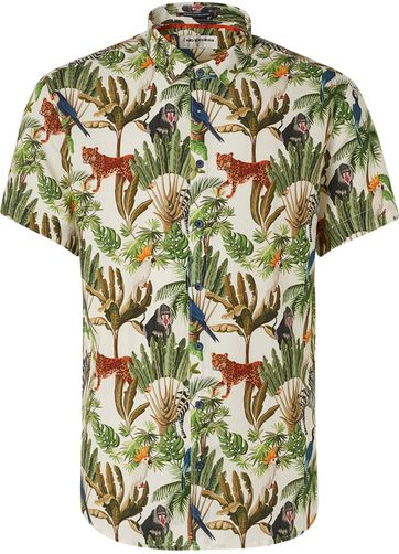 No-Excess Shirt Jungle Multicolour