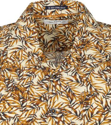 No-Excess Shirt Leaves Multicolour
