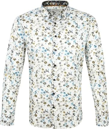 No-Excess Shirt Print Bouquet Multicolour
