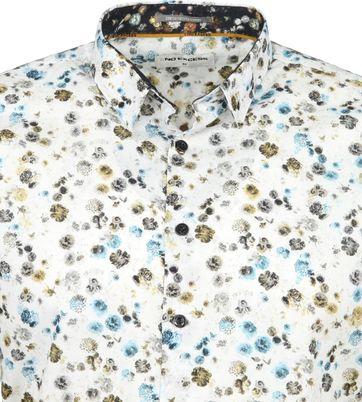 No-Excess Shirt Print Bouquet Multicolour