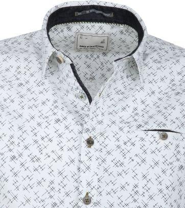 No-Excess Shirt Print Design White