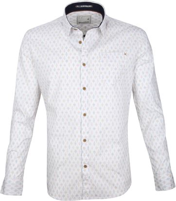 No-Excess Shirt Print White