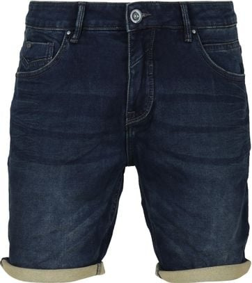 No-Excess Short Dunkelblau Denim