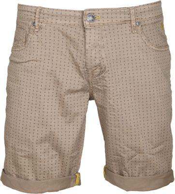 No-Excess Short Dyed Khaki