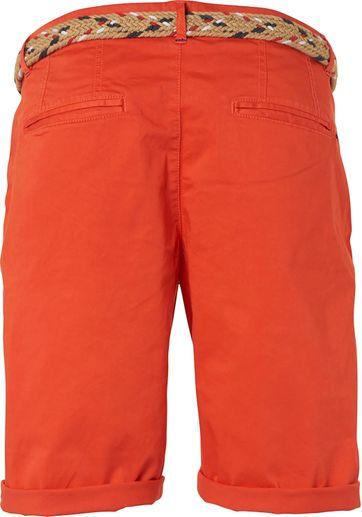 No-Excess Short Garment Dye Oranje