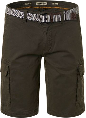 No-Excess Short Garment Dyed Olive