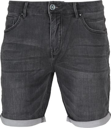 No-Excess Short Grau Denim