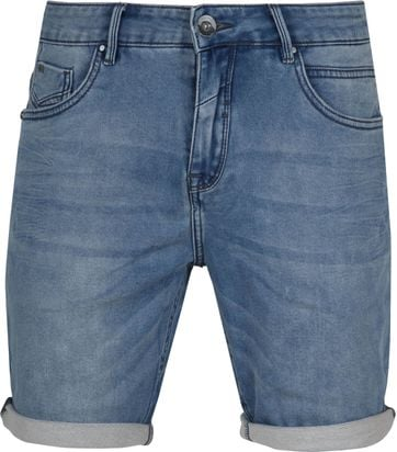 No-Excess Shorts Bleach Denim