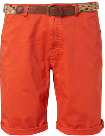 No-Excess Shorts Garment Dye Orange