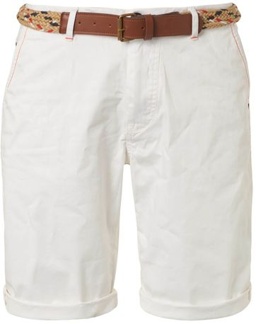 No-Excess Shorts Garment Dye White