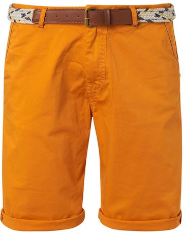 No-Excess Shorts Garment Dye Yellow