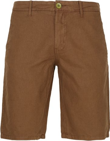 No-Excess Shorts Garment Dyed Camel