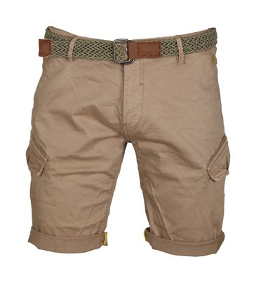 No-Excess Shorts Garment Dyed Khaki
