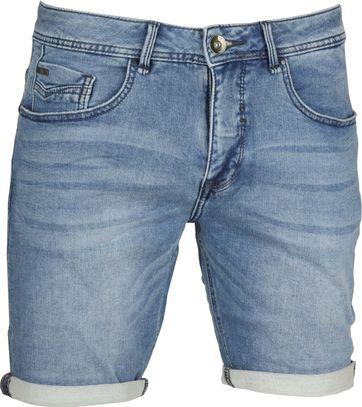 No-Excess Shorts Jog Denim Bleach