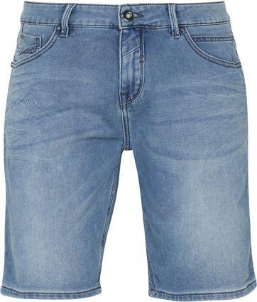 No-Excess Shorts Jog Stretch Bleach Denim
