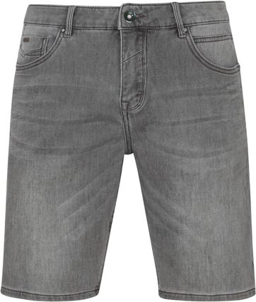 No-Excess Shorts Jog Stretch Grey Denim