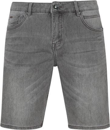 No-Excess Shorts Jog Stretch Grey Denim