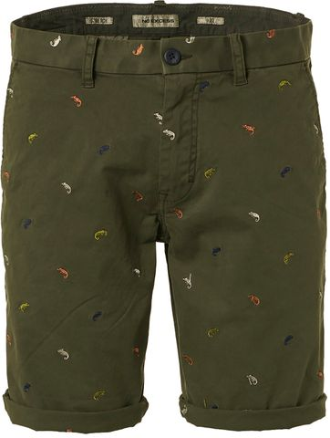 No-Excess Shorts Shrimps Dark Green