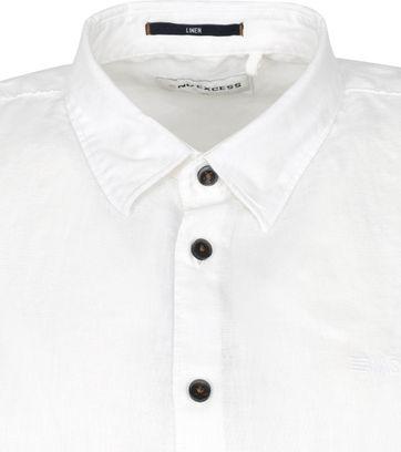 No-Excess SS Shirt Linen White