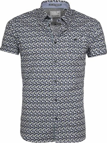 No-Excess SS Shirt Multicolour Print