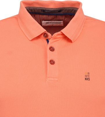 No Excess Stretch Poloshirt Oranje