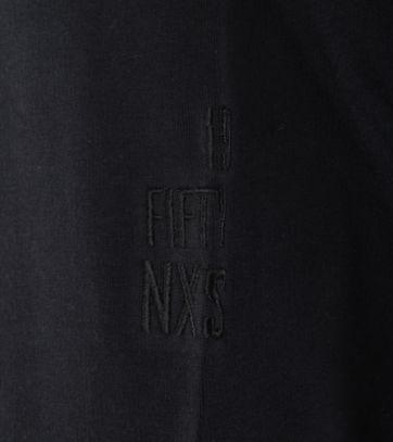 Detail No-Excess Sweat Vest Zwart
